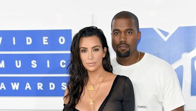 "Kim Kardashian and Kanye West Are Reportedly Staying ""Cordial"""