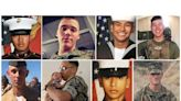 A new father, a 'soulmate,' 'one of the good ones' among eight Marines, one sailor lost in amphibious vehicle accident