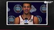 Gonzaga's Jalen Suggs on legendary shot: 'That's something that you practice on a mini hoop as a kid'