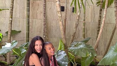 Kim Kardashian Shares Candid Moment Goofing Around with Daughter North