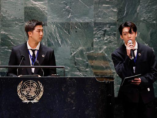 BTS三度登聯合國演講! 小粉紅氣炸批「辱華」糗踢到鐵板