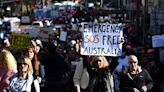 A largely maskless, sometimes violent protest against Sydney's lockdown raises fears of superspreading.