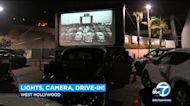 Mel's Drive-in adds outdoor movies to its carhop restaurant service