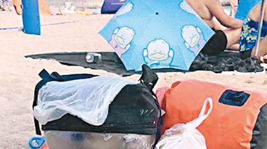 貓貓困袋獨留沙灘 主人被斥「謀殺」 - 東方日報