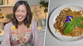 Chrissy Teigen's mom, Pepper, makes stir-fried spaghetti with Thai chili jam