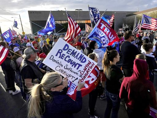 The battle over voting restrictions is playing out nationwide. Arizona Republicans are leading the way
