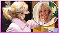 First Lady Jill Biden Laughs Over Scrunchie Trending Moment