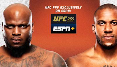 UFC 265 Livestream: How to Watch Derrick Lewis vs. Ciryl Gane on ESPN+