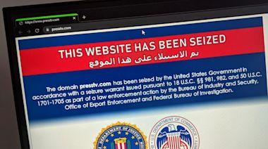 美國查封36個伊朗網站 包括國有媒體