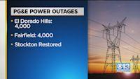 PG&E Outages Across Sacramento Region