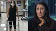 Woman's sudden paralysis linked to COVID-19 vaccine, she says