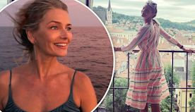 Paulina Porizkova travels to her birthplace...after her mom weds