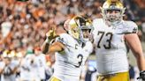 WATCH: Notre Dame's Coan to Davis for the 7-0 lead over USC