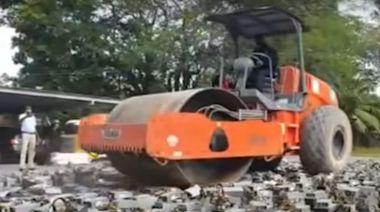 大馬虛幣礦工偷電「挖礦」 警沒收電腦全數輾毀