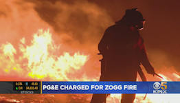 PG&E Charged With Manslaughter For Sparking Fatal Zogg Fire Last Year