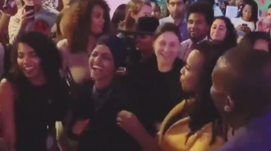 Please enjoy Ilhan Omar and Ayanna Pressley dancing to Lizzo's 'Truth Hurts'