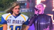 15-year-old female football player unexpectedly outshines her competition on 'The Voice'