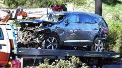伍茲車禍原因 警方:不安全速度下行駛過彎失控