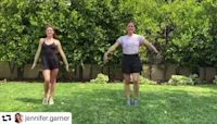 Tiler Peck and Jennifer Garner: dance buddies
