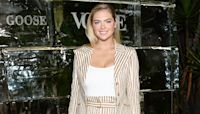 Kate Upton Adorably Incorporates Her Daughter into Her At-Home Workout