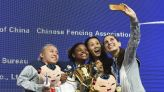 Olympic fencer Nzingha Prescod subject to racial abuse on Zoom call: 'I was about to be in tears'