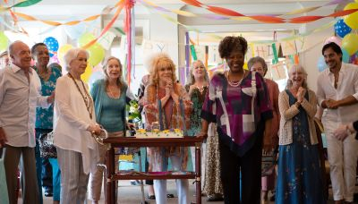 Review: A star-studded retirement home in 'Queen Bees'