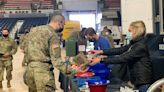 USO brings drinks, snacks and a 'warm welcome' to Guard troops at the Capitol