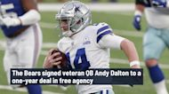 Bears coaches were 'thrilled' to land QB Andy Dalton in free agency