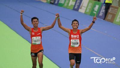 【馬拉松賽果】半馬男子組選手攜手衝線 紀嘉文:「鬥咗廿年,贏輸不重要」 - 香港經濟日報 - TOPick - 新聞 - 社會