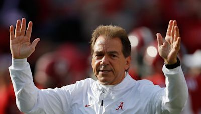 Look: Nick Saban Is At The Final Round Of The Masters