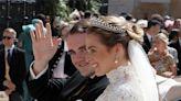 La preciosa tiara con la que se ha casado la duquesa de Noto