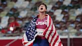 Oreos, Usain Bolt and visualization: Paralympian Nick Mayhugh inspires Centenary students