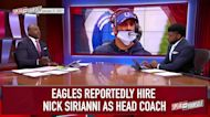 Eagles reportedly hire Colts' OC Nick Sirianni as new head coach — Wiley and Acho react | SPEAK FOR YOURSELF
