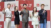[MD PHOTO] 李東健金賽綸等韓國藝人出席新劇《LEVERAGE》發佈會