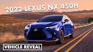 2022 Lexus NX 450h revealed