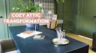 How to Convert an Attic Into a Cozy Work Space or Zoom Room