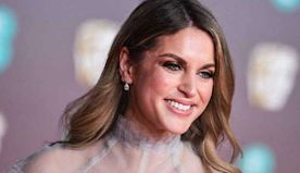 Amy Huberman says her dad is feeling 'very isolated' during health crisis