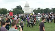 """""""Justice for J6"""" rally in D.C. concludes amid heavy police presence"""