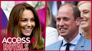 Kate Middleton Returns To Wimbledon With Prince William In First Appearance Since COVID-19 Exposure
