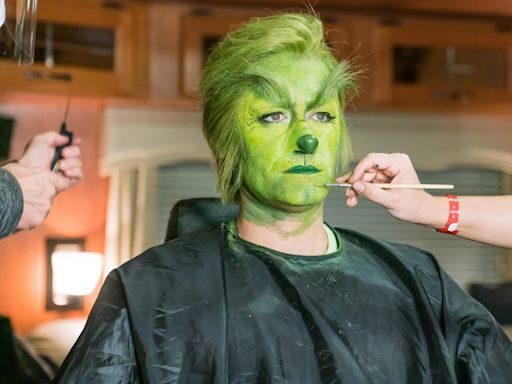 Watch Matthew Morrison Transform into the Grinch in First Look of NBC's Grinch Musical