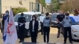Israeli Police Honor Survivors on Holocaust Remembrance Day