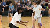 Track legend Joyner-Kersee teaches young athletes in Elk Grove Village