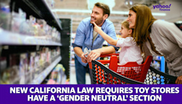 New California law requires toy stores have a 'gender neutral' section