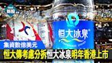 【恒大3333】中國恒大傳考慮分拆恒大冰泉明年香港上市 集資數億美元 - 香港經濟日報 - 即時新聞頻道 - 即市財經 - 新股IPO