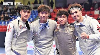 張家朗今出戰東奧劍擊團體賽 爭牌靠冥想 | 社會事