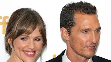 Jennifer Garner revealed how Matthew McConaughey stopped her from quitting 'Dallas Buyers Club'