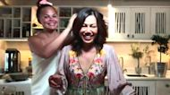 Watch Chrissy Teigen crash her mom's cooking segment on TODAY