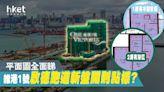 維港1號平面圖分析 2B座向南樓供應 個別1房有L形大窗 - 香港經濟日報 - 地產站 - 新盤消息 - 新盤新聞