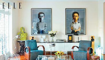 居於香港半山的古宅風情 融合中國藝術品與古舊家具的家居參考價值奇高