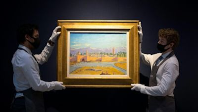 Churchill's 'most important' painting sells for £7 mn